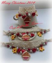 Bracciali Romantico Gingerbread Babbo Natale