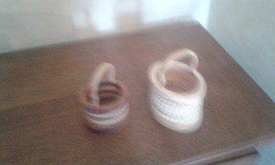 simpatici cestini in legno