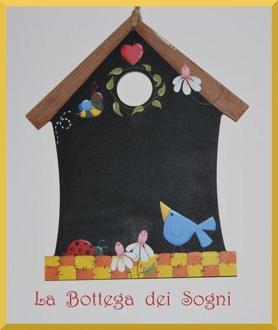 Lavagna casetta - memo country