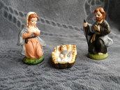 Presepe in ceramica artistica