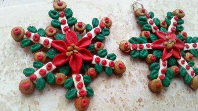 Orecchini 'Stella di Natale'