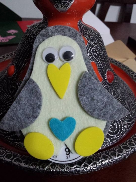 Disco orario a forma di Pinguino!!!!