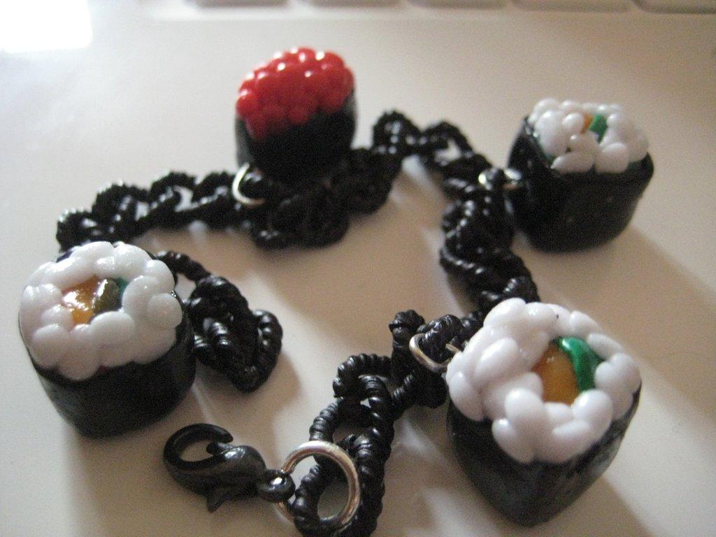 FIMO - Braccialetto Sushi