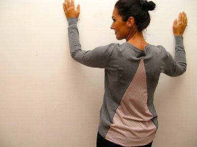 maglione con spicchio