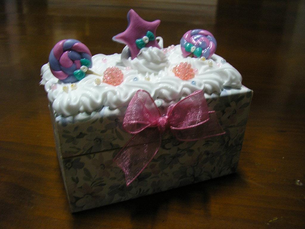 scatoline scatole bomboniere fimo portagioie dolcetti box