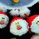 Babbi Natale all' uncinetto