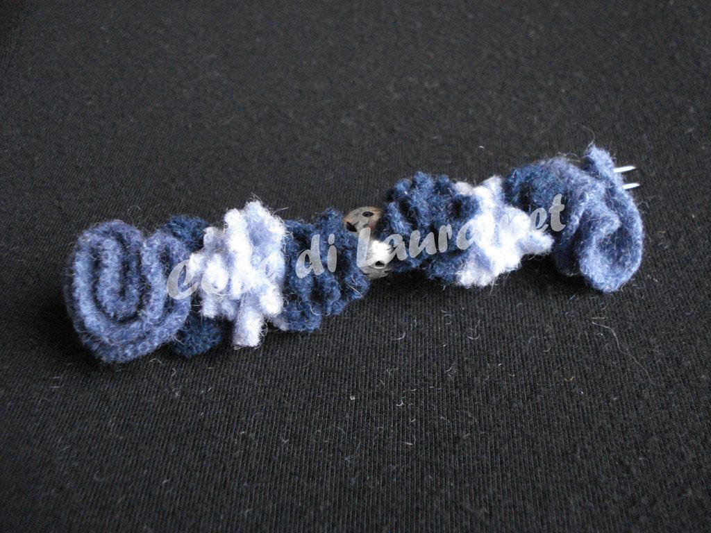 Spillone in lana cotta