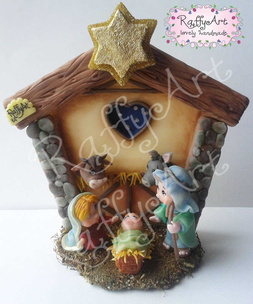 "Presepe ""Sweet Holy Family"""