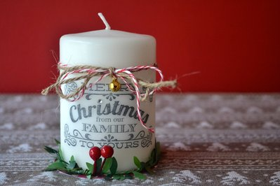 Christmas perfect Candle