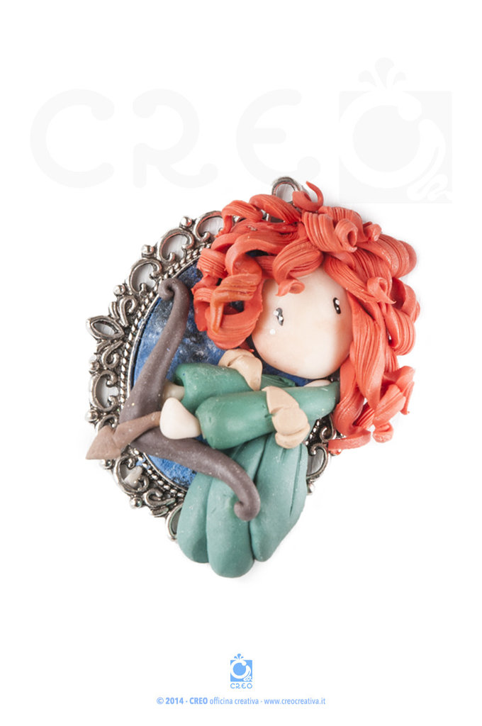 Princess Cammeo Ribelle by CREO | PolymerClay