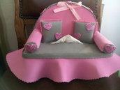 Porta fazzoletti divano