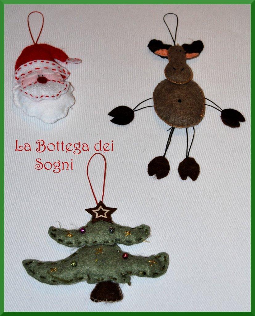 Decorazioni natalizie - addobbi albero
