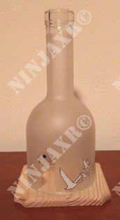 Porta Candela Piccolo Vodka Grey Goose Hurricane Portacandela
