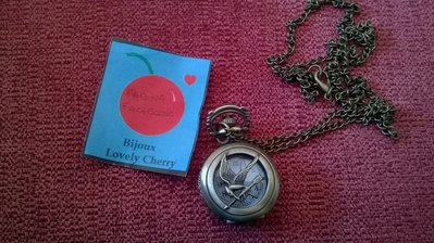 collana orologio funzionante hunger games katniss cosplay