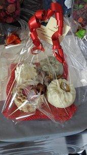 Pacchetti regalo per Natale o altri eventi con saponi naturali !!!