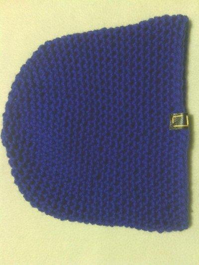 cappello bambino blu