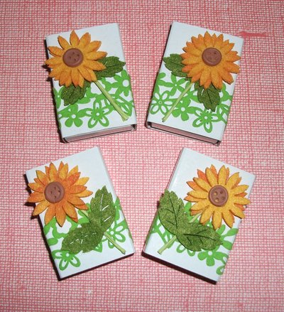 Scatoline decorate per regali - Packaging & Girasole^^