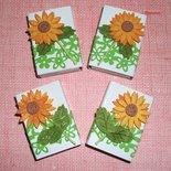 Scatoline decorate per regali - Packaging & Girasole^^