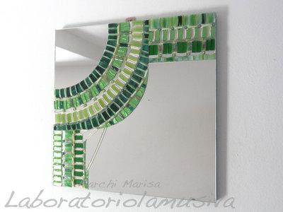 """""""Onda"""" Specchiera a mosaico"""