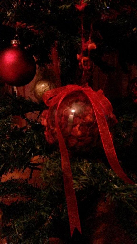 Decorazione di Natale in lana bouclè