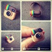 anello instagram logo per veri instagramaddicted