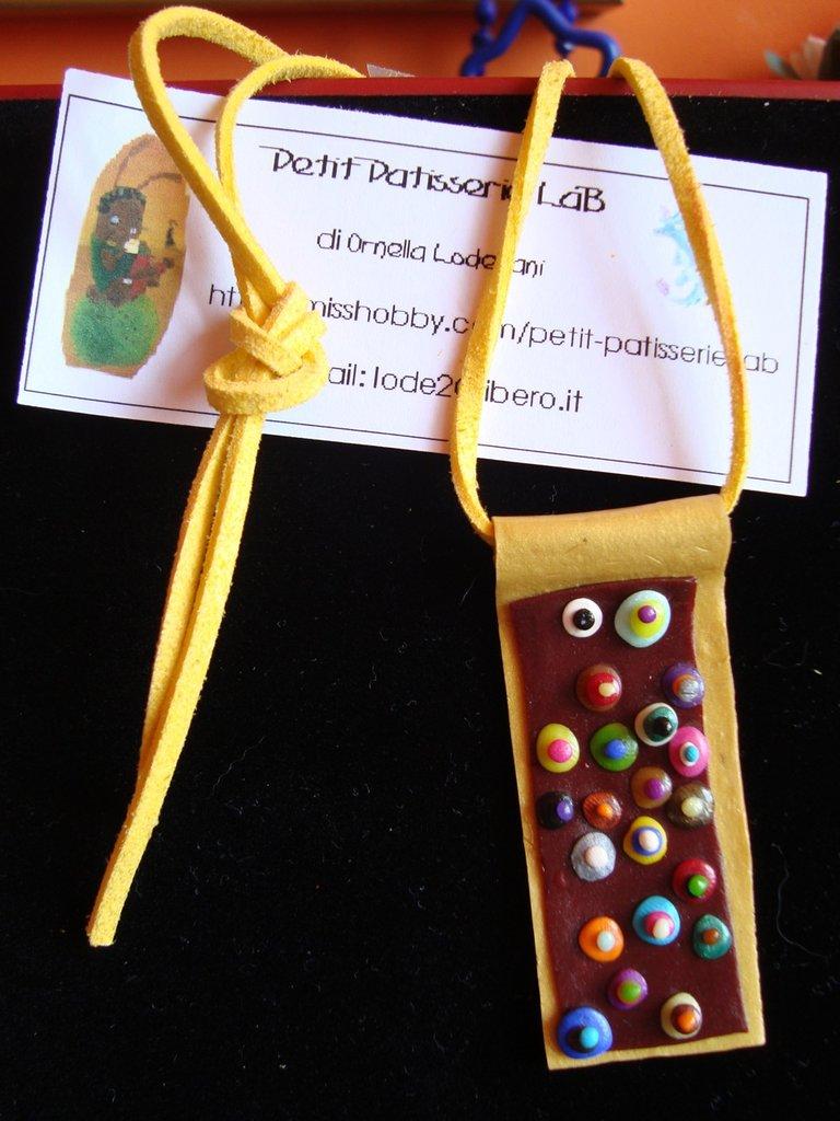 """Ciondolo e collana """"Klimt"""""""