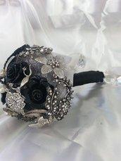 *Bouquet da sposa gioiello...bouquet spilla*