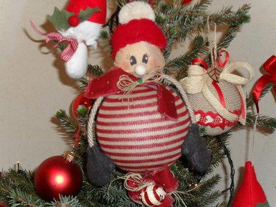 Addobbo natalizio,L'apina Natalina.