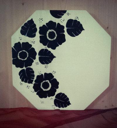 Quadretto moderno floreale