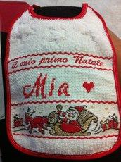 Bavaglini natalizi personalizzati