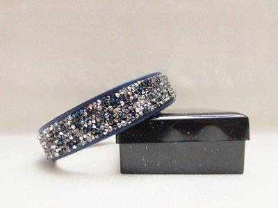 """""""Bermuda Blue Silver"""" - Braccialetto in cristallo Swarovski"""