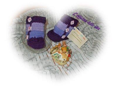 Stivali in lana per bebè