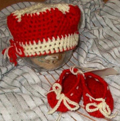 Cappello e scarpine