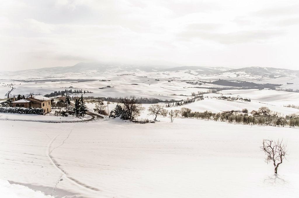 Neve in Valdorcia