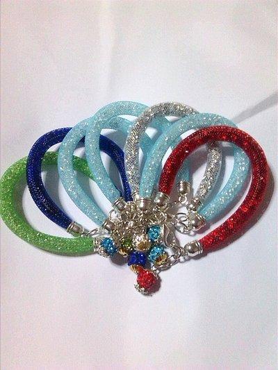 bracciali stile stardust con perla in strass
