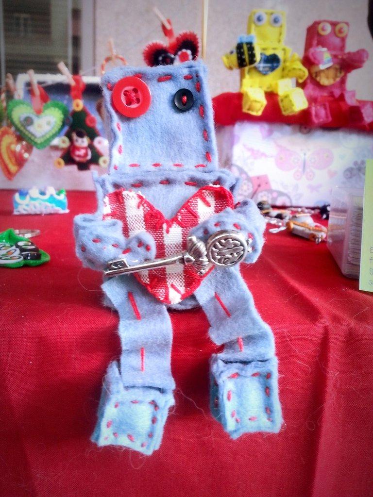 Il Robot guardiano delle chiavi