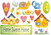 CARTA DI RISO HOME SWEET HOME