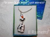 Collana Olaf *Frozen* principessa Elsa