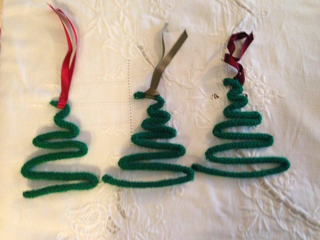 Alberelli natalizi decorazioni albero o chiudi-pacco