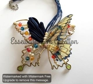 collana fusion butterfly