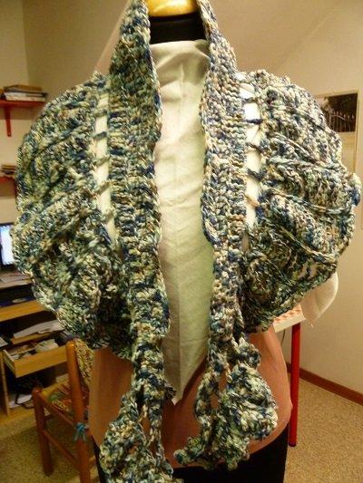 sciarpa modello scialletto
