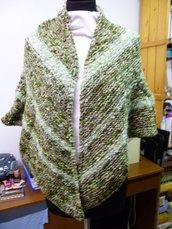 scialle verde bosco