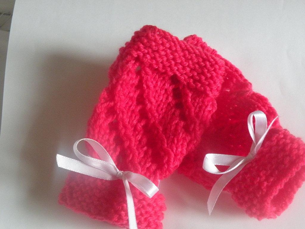 guanti senza dita per bambina