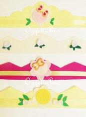 Coroncine in feltro: le corone copricapo per la festa di compleanno a tema 'Fatine e Principesse'!