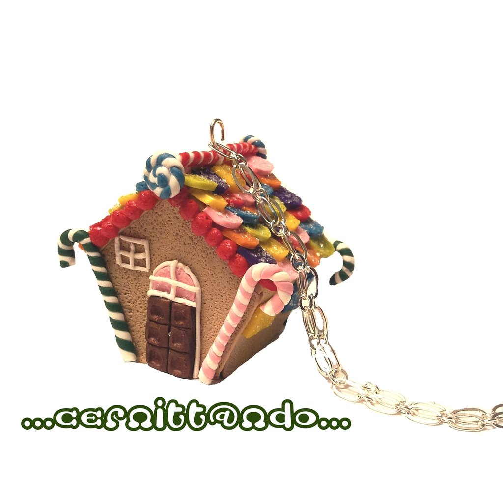 Collanina Gingerbreadhouse multicolor