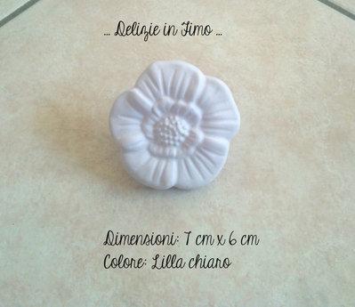 Gessi profumati in polvere di ceramica Margherita color lilla