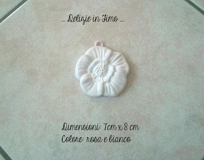 Gessi profumati in polvere di ceramica margherita color rosa chiaro