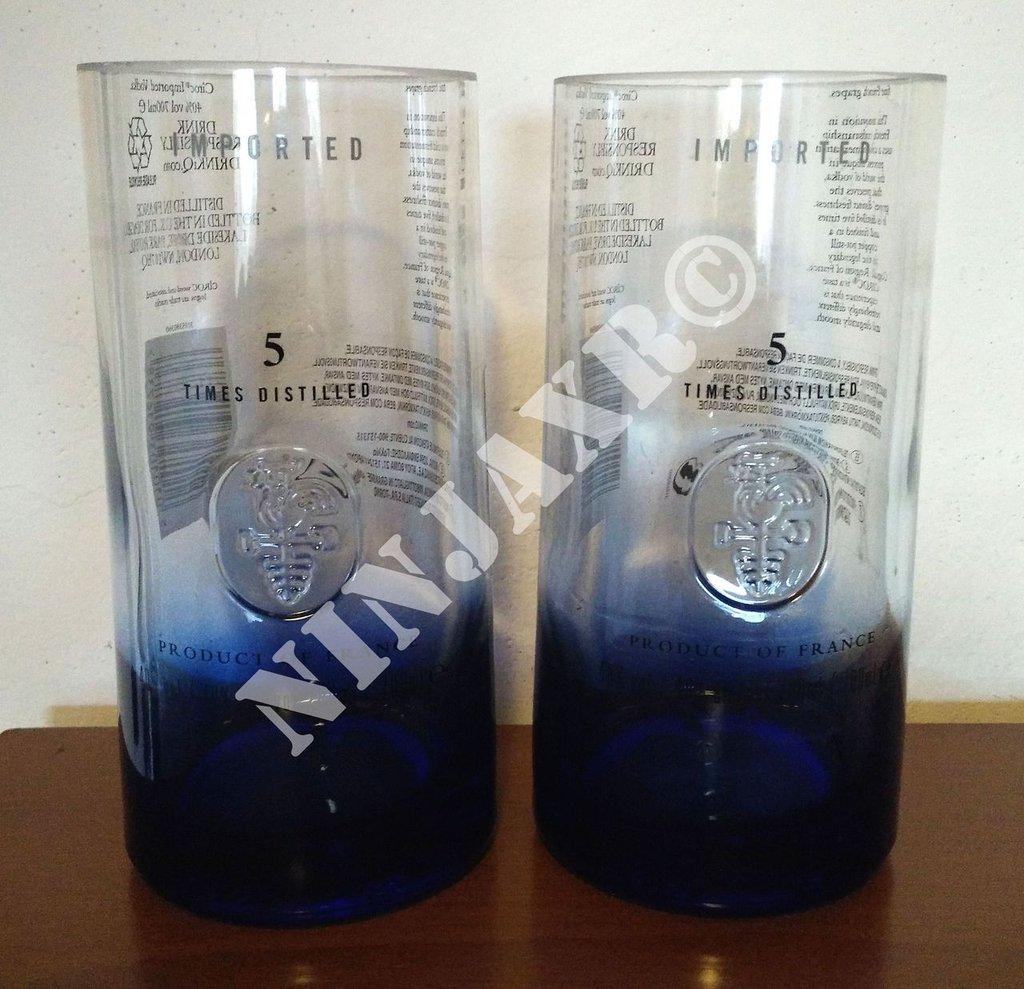 Bicchieri Tumbler bottiglia Vodka Ciroc