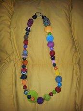 Collana di Feltro coloratissima