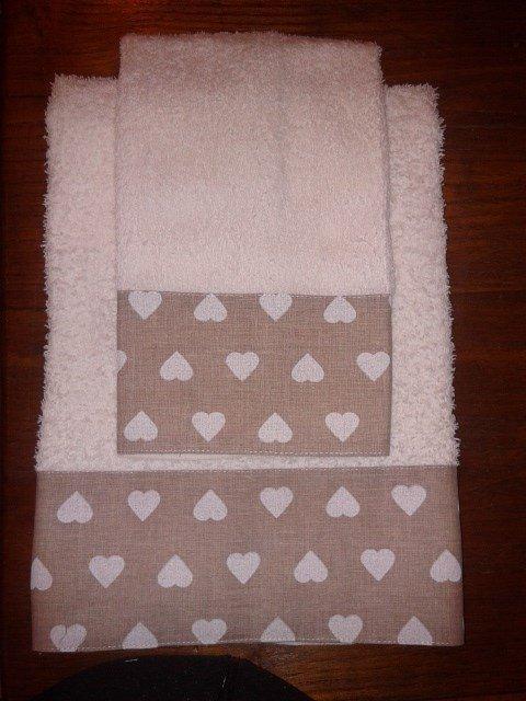 Set asciugamani per il bagno